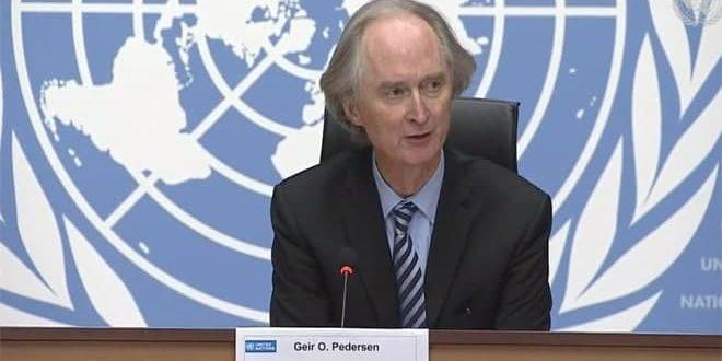 Педерсен: Завтра в Женеве начнется четвертый раунд заседаний по обсуждению Конституции САР