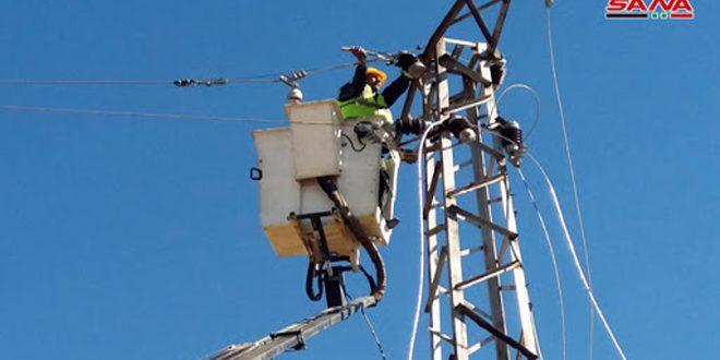 В Эль-Камышлы введены в эксплуатацию пять воздушных линий электропередач