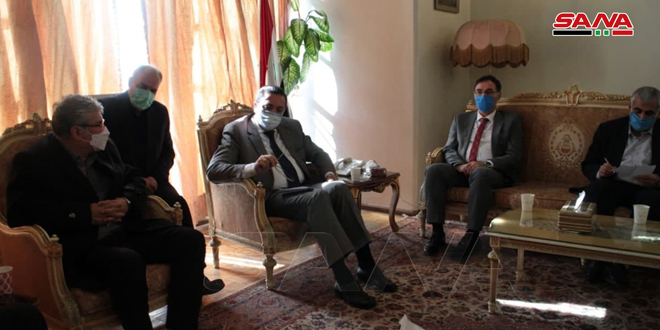 Посол САР в Тегеране подчеркнул важность стратегических отношений между Сирией и Ираном