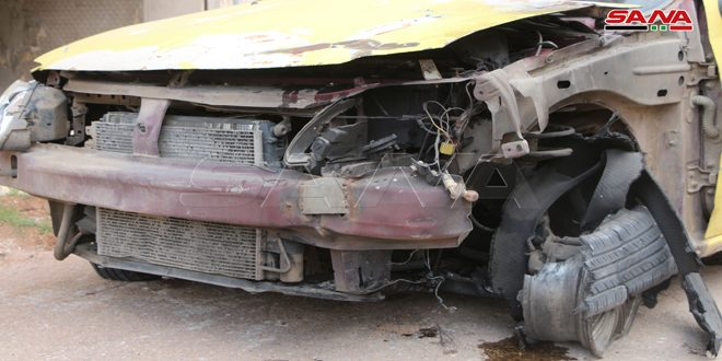 В центре города Дараа взорван автомобиль, жертв нет
