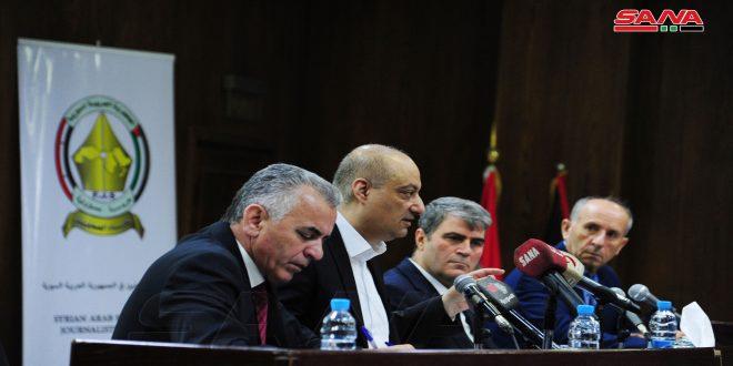 На заседании Совета Союза журналистов обсуждалась роль СМИ в освещении президентских выборов в Сирии
