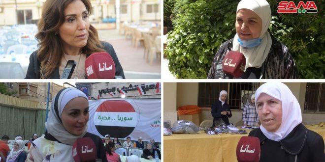 Женщины Дамаска проголосуют на президентских выборах за того, кто поддерживает их права