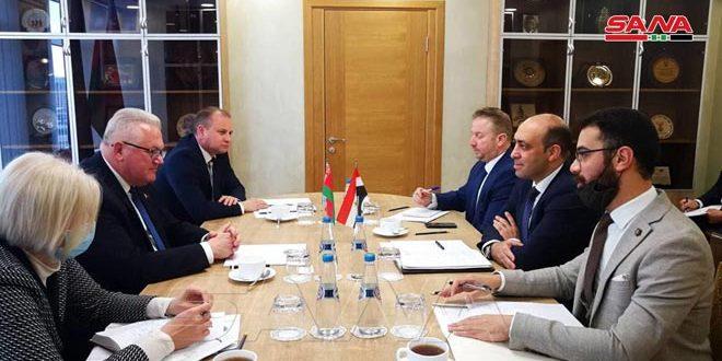 Сирия и Беларусь обсудили укрепление сотрудничества в области высшего образования