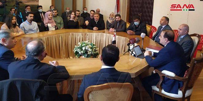 Сирийские студенты и члены сирийской общины в России почтили память павших за Родину