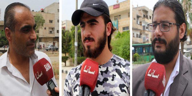 Жители Дараа: Участие в выборах свидетельствует о силе Сирии и приверженности своему независимому решению