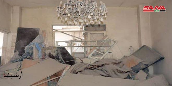 Террористические группировки обстреляли поселок Джурин в провинции Хама