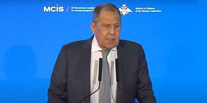Лавров подтвердил неизменную поддержку Россией Сирии в борьбе с терроризмом