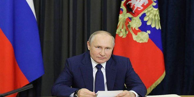 Путин назвал запрет на поставку медицинского оборудования в Сирию негуманным
