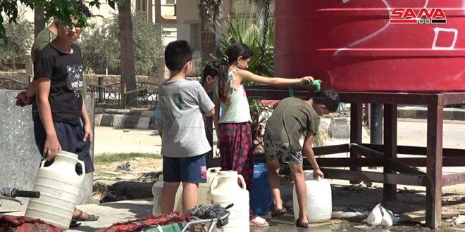 Турецкие оккупанты и их наемники продолжают блокировать работу водопроводной станции «Аллюк»