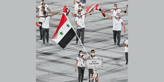 В Токио при участии Сирии стартовали 32-е летние Олимпийские игры
