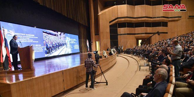 В Дамаске стартовала совместная сирийско-российская встреча по итогам Международной конференции по возвращению беженцев