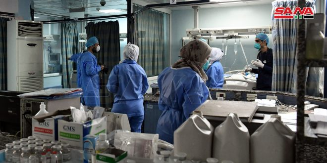 В Сирии отмечена тенденция к снижению заболеваемости COVID-19