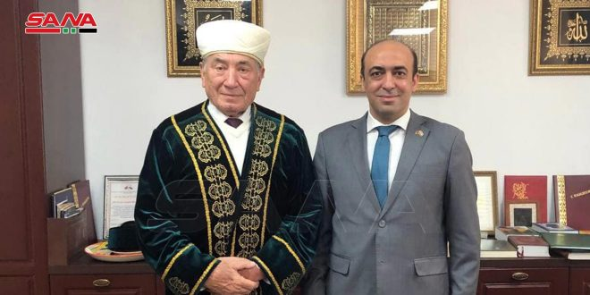 Муфтий Беларуси подтвердил неприятие враждебной политики западных стран в отношении Сирии