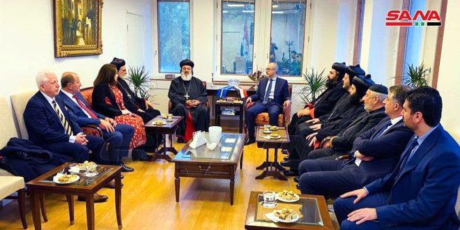 Патриарх Афрам II призвал отменить антисирийские санкции США и ЕС