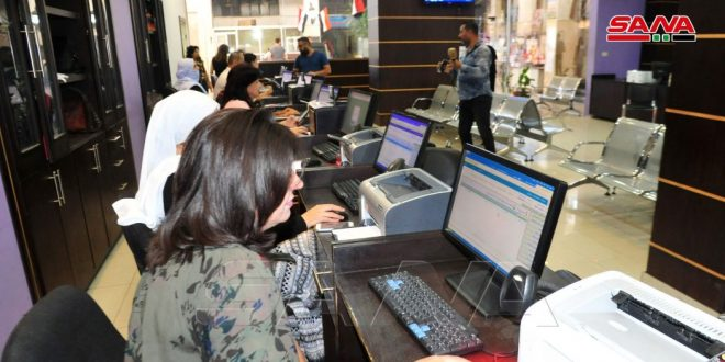 В Дейр-эз-Зоре и Сувейде открыты два новых центра для предоставления электронных услуг