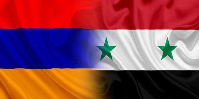Сирийско-армянские отношения построены на основе дружбы, уважения и взаимной поддержки