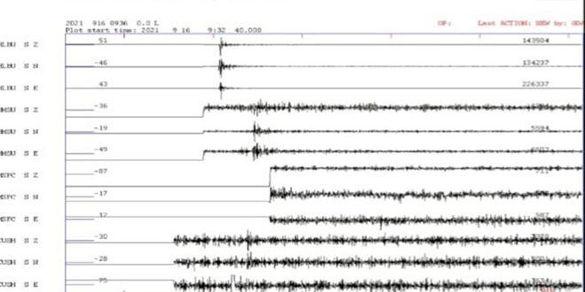 К юго-западу от Алеппо произошло землетрясение магнитудой 2,9 балла по шкале Рихтера