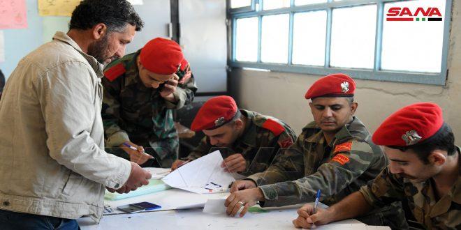На северо-западе провинции Дараа продолжается процесс определения статуса боевиков