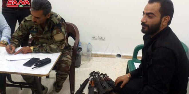 В Аль-Храке, Ас-Суре и Альме провинции Дараа второй день ведется мирное урегулирование