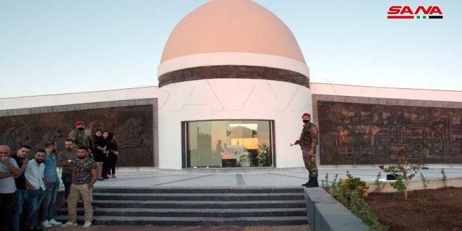 В провинции Сувейда открыт Мемориал герою Айсаму Захреддину