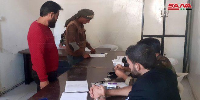 В провинции Дараа закончился процесс урегулирования статуса боевиков