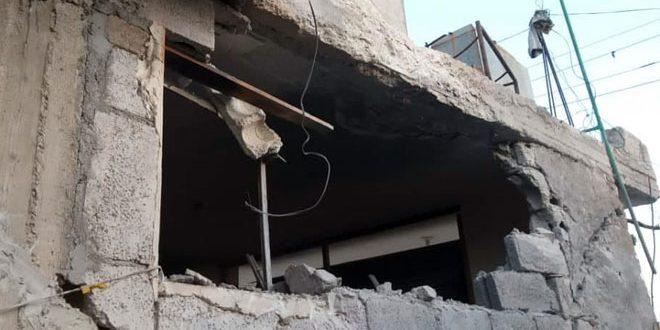 В провинции Алеппо в результате обстрела террористов пострадали два человека