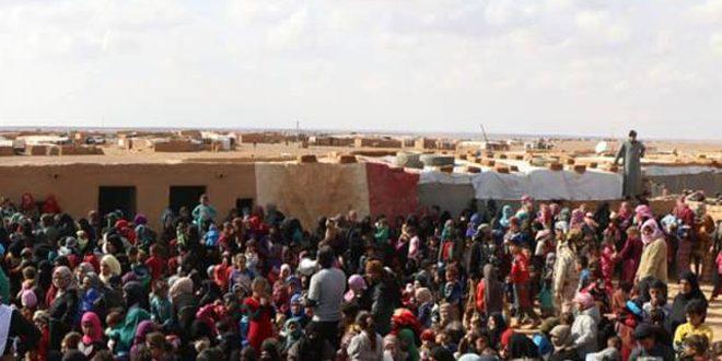 El Rukban Kampında Tehcir Edilen 50 Bin Kişi Arasında 6 Bin Terörist Var: Durumu 2. Dünya Savaşındaki Toplama Kamplarına Benziyor