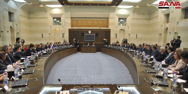 Suriye-Rusya Ortak Ticaret ve Ekonomik İşbirliği Komitesi Fenni ve Teknik Komitelerinin Toplantı Sonuçlarını Ele Aldı
