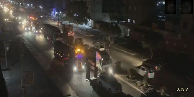 ABD Türkiye Sınırları Yakınına Bir Askeri Konvoyu Daha Gönderdi