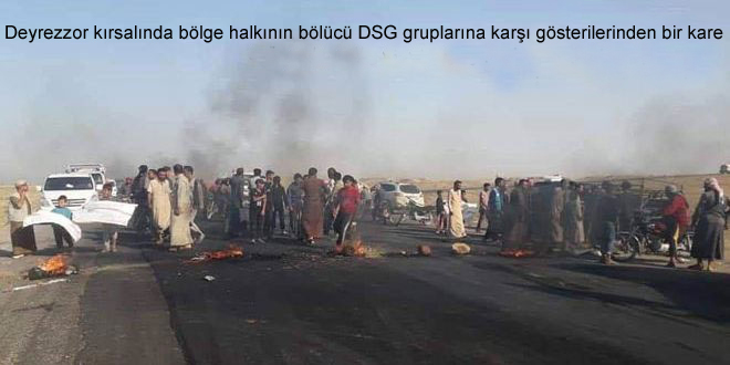 DSG Bölücü Gruplar El Cezire'de Onlarca Vatandaşı Kaçırdı.. Ahali Protesto Etti