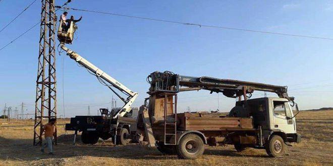 Haseke'de Çok Sayıda Bölge Yeniden Elektriğe Kavuştu