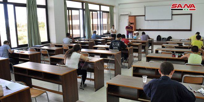 Suriye Öğrencileri Uluslararası İran Matematik Mühendisliği Olimpiyatına Katılıyor