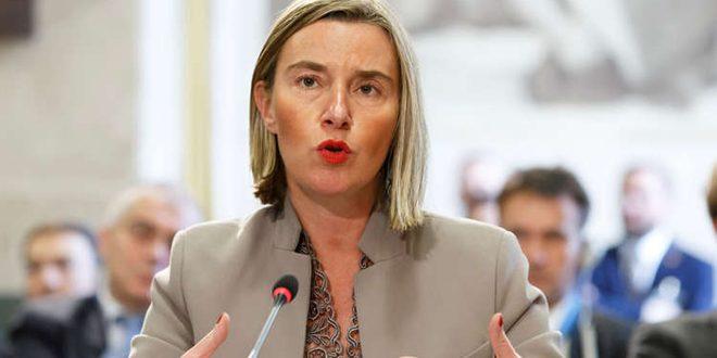 Mogherini Suriye Topraklarına Yönelik Türk Saldırısına Eleştirilerini Yineledi
