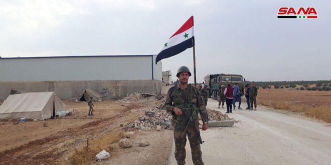 Ordu Birliklerimiz Cezire Bölgesindeki Yayılmasını Sürdürüyor, Menbiç Bölgesindeki Noktalarını Da Sabitleştiriyor