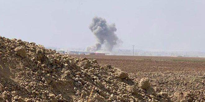 Türk Saldırgan Güçleri Malikiye Kentinin Kuzeyindeki Kasr Zeyb Köyünü Bombaladı