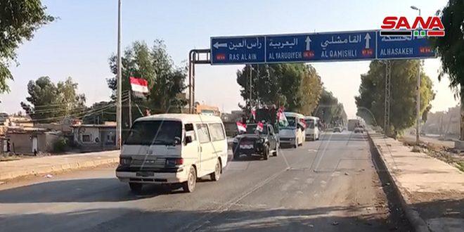 Ordu Tel Temr Çevresindeki Köylere Girdi ve Haseke'nin Kuzey Kırsalındaki Konuşlanmasını Sürdürüyor (VİDEO)