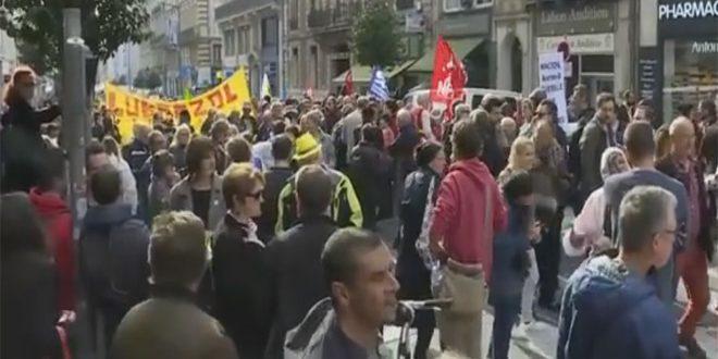 ABD Başkentinde ve Avrupa'nın Farklı Bölgelerinde Türk Saldırganlığını Kınayan Gösteriler Yer Alıyor