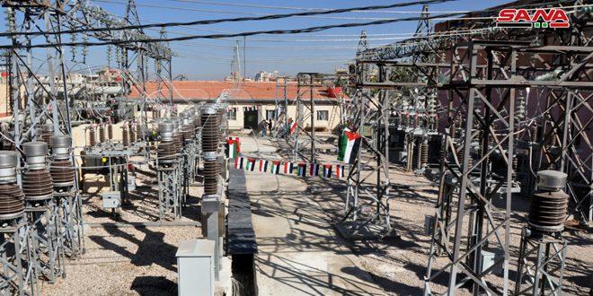 Cumhurbaşkanı Beşşar el Esad'ın Himayesinde Süveyda'daki Dahır Cebel Elektrik İstasyonunun Açılışı Yağıldı