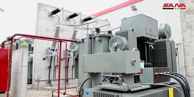 İbn Nefis Elektrik İstasyonu Şam'da Elektrik Hizmetinin İstikrarını Destekleyecek