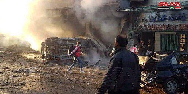 Kamışlı'da 3 Bombalı Eylem (video)