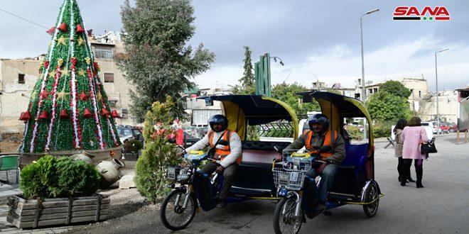 Araçsız Eski Şam.. Sakinleri ve Ziyaretçilerinin İhtiyaçlarını Bilme Faaliyeti