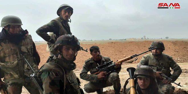 Ordu Haseke – Halep Arasındaki Anayolunda Konuşlanmasını Sürdürüyor