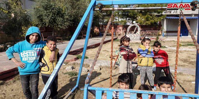 Suriye Ordusunun Konuşlanması Ardından Hayat Abu Raseyn Nahiyesine Yeniden Döndü