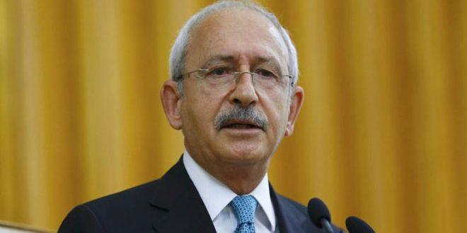 Kılıçdaroğlu: Suriye ve Bölgenin Vardığı Durumdan Surmlu Kişi Erdoğandır