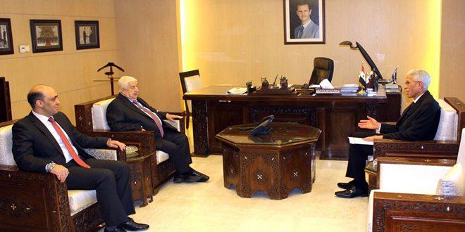 Bakan Muallim Cezayir Yeni Büyükelçisinin Güven Mektuplarını Teslim Aldı