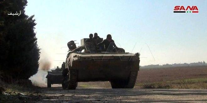 Ordu Birlikleri İdlib Kırsalı el Semke Köyünü Kurtardı