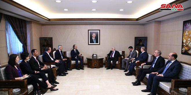 Muallim ve Pederson: Bağımsız Suriyeli Kararını Koruması İçin Anayasayı Tartışma Komitesinin İlke İcraat ve Çalışmalarına Bağlılığın Önemi