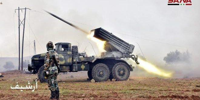 Ordu Teröristlerin Saldırılarına Füzelerle Karşılık Verdi Ağır Kayıplara Uğrattı