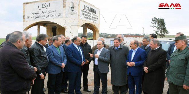 Başbakan Hamis Başkanlığında Hükümet Ekibi, Ekonomik ve Hizmet Kalkınma Planını Onaylamak Üzere Halep'i Ziyaret Etti