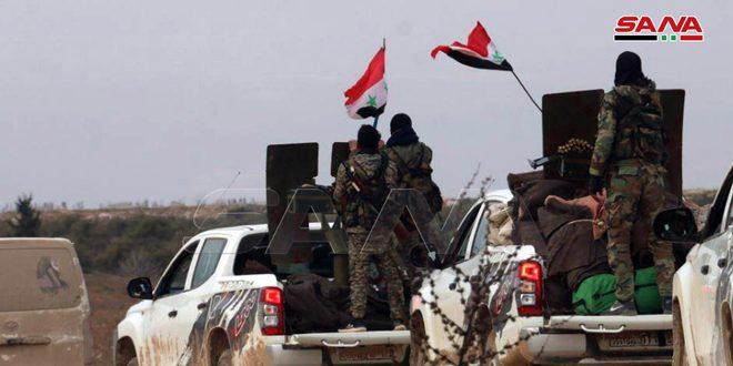 Ordu, Halep Kırsalının Batı Ve Kuzeybatı Çevresinin Köy Ve Beldelerini Terörden Kurtardı